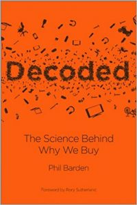 Cover of the marketing book Decoded by Phil Barden.